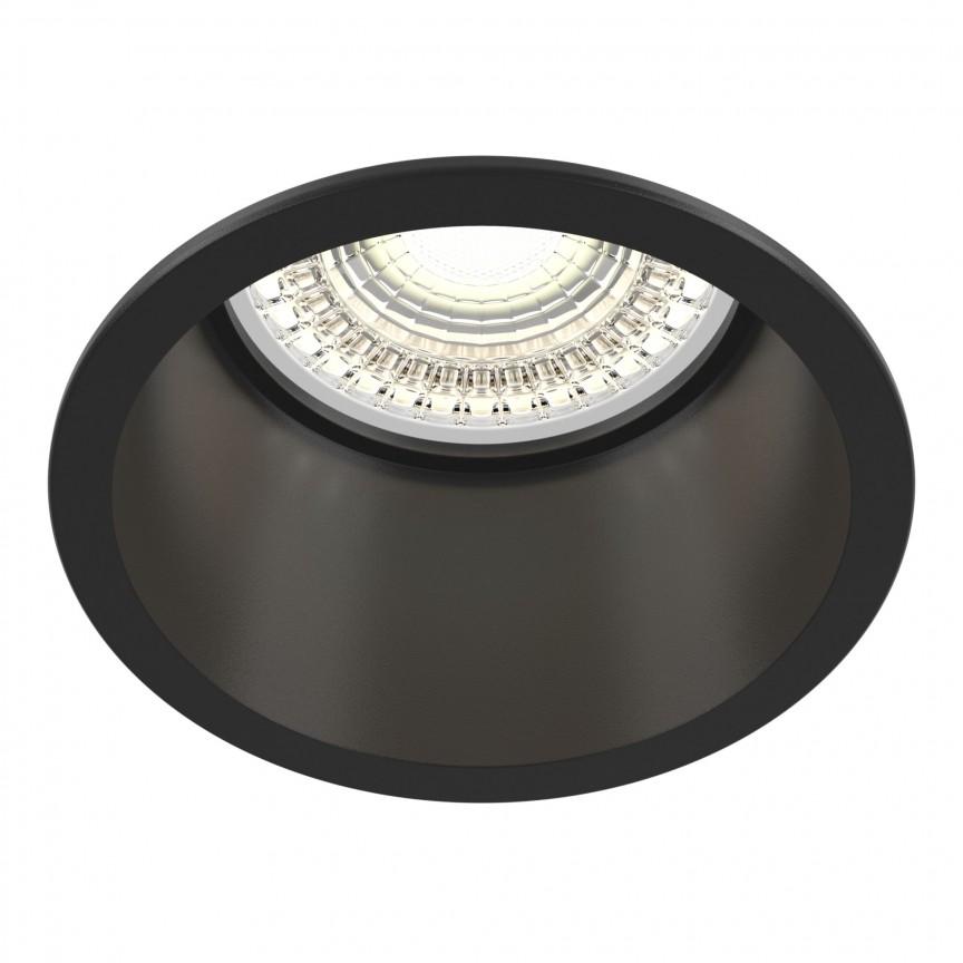Spot incastrabil design modern Reif negru MYDL049-01B, Spoturi aplicate tavan / perete, mobila, LED⭐modele moderne pentru living,dormitor,bucatarie,baie,hol.✅Design decorativ 2021!❤️Promotii lampi❗ ➽ www.evalight.ro. Alege oferte la colectile NOI de corpuri de iluminat interior de tip spot-uri aparente cu LED, (rotunde si patrate), ieftine de calitate la cel mai bun pret. a
