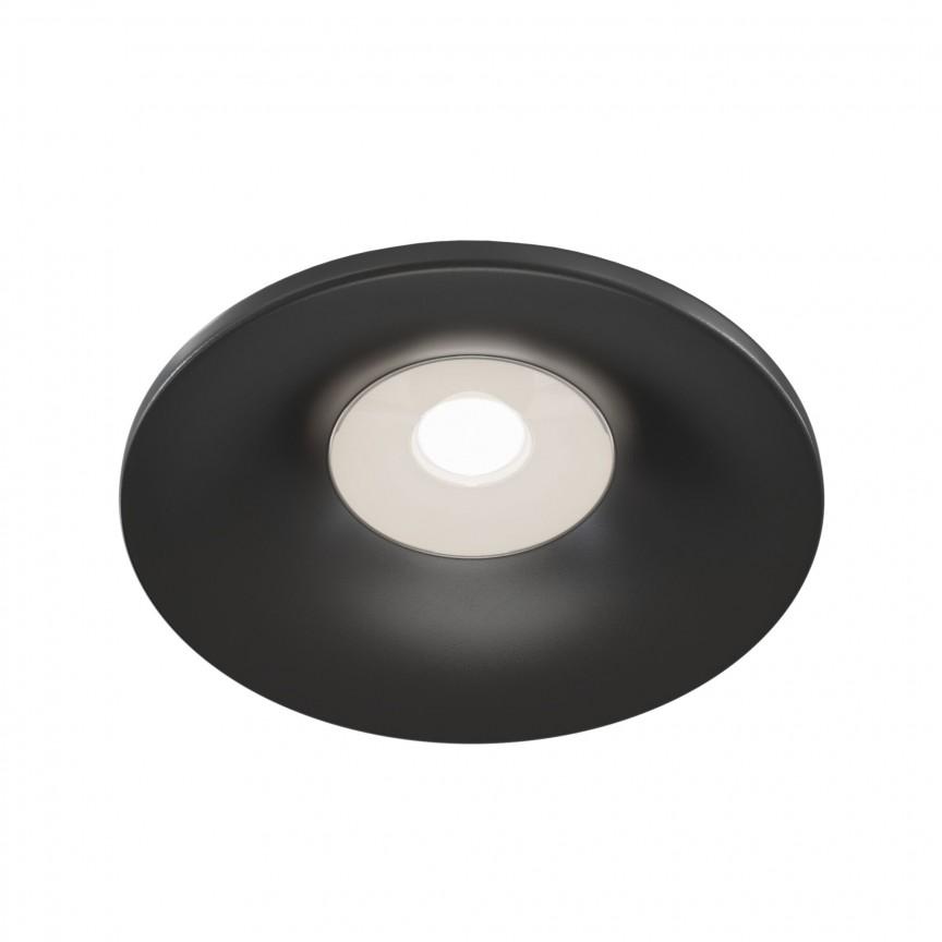 Spot incastrabil design modern Barret negru MYDL041-01B, Spoturi aplicate tavan / perete, mobila, LED⭐modele moderne pentru living,dormitor,bucatarie,baie,hol.✅Design decorativ 2021!❤️Promotii lampi❗ ➽ www.evalight.ro. Alege oferte la colectile NOI de corpuri de iluminat interior de tip spot-uri aparente cu LED, (rotunde si patrate), ieftine de calitate la cel mai bun pret. a