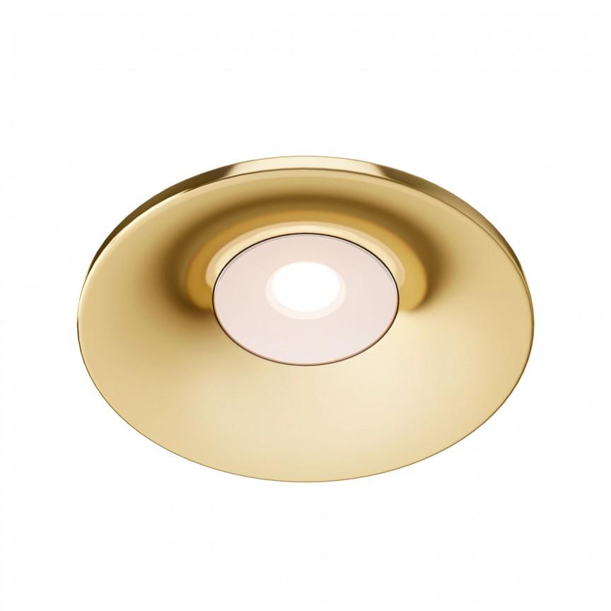 Spot incastrabil design modern Barret auriu MYDL041-01G, Spoturi aplicate tavan / perete, mobila, LED⭐modele moderne pentru living,dormitor,bucatarie,baie,hol.✅Design decorativ 2021!❤️Promotii lampi❗ ➽ www.evalight.ro. Alege oferte la colectile NOI de corpuri de iluminat interior de tip spot-uri aparente cu LED, (rotunde si patrate), ieftine de calitate la cel mai bun pret. a