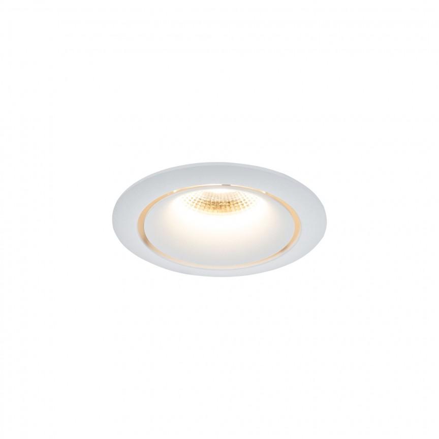 Spot incastrabil LED design modern Yin alb MYDL031-2-L12W, Spoturi aplicate tavan / perete, mobila, LED⭐modele moderne pentru living,dormitor,bucatarie,baie,hol.✅Design decorativ 2021!❤️Promotii lampi❗ ➽ www.evalight.ro. Alege oferte la colectile NOI de corpuri de iluminat interior de tip spot-uri aparente cu LED, (rotunde si patrate), ieftine de calitate la cel mai bun pret. a