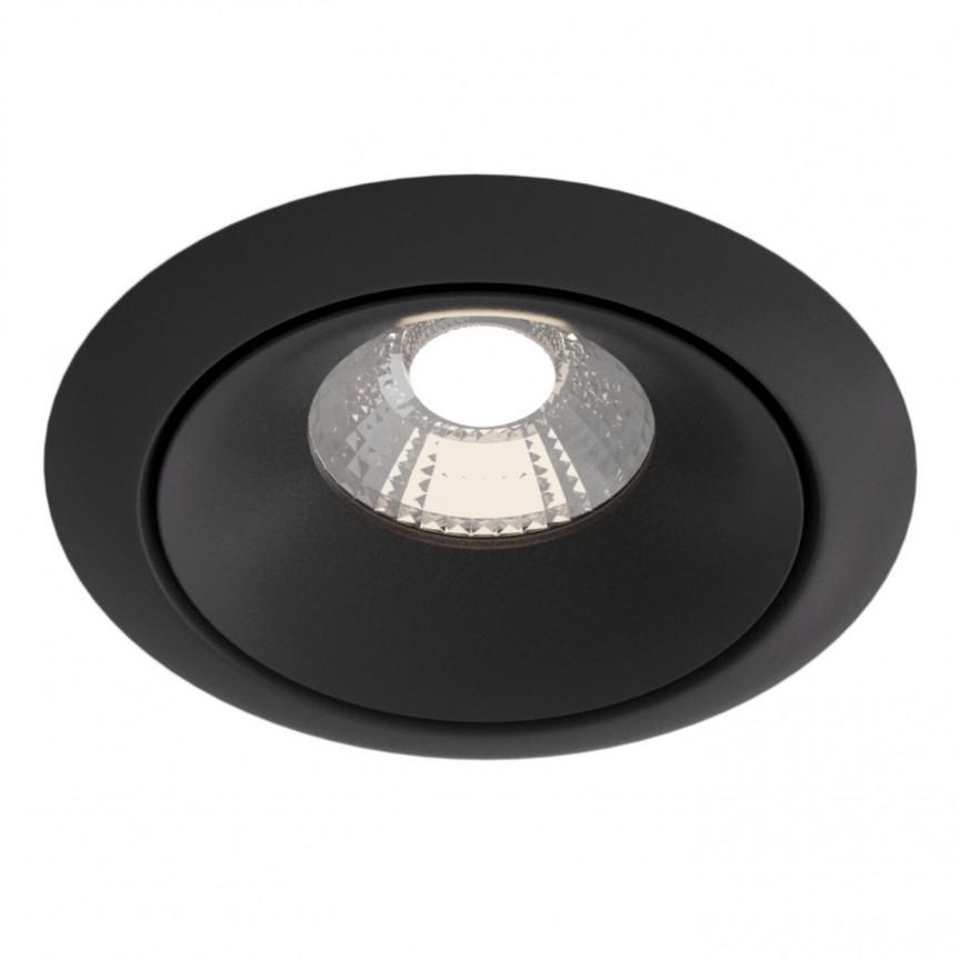 Spot incastrabil LED design modern Yin negru MYDL031-2-L12B, Spoturi aplicate tavan / perete, mobila, LED⭐modele moderne pentru living,dormitor,bucatarie,baie,hol.✅Design decorativ 2021!❤️Promotii lampi❗ ➽ www.evalight.ro. Alege oferte la colectile NOI de corpuri de iluminat interior de tip spot-uri aparente cu LED, (rotunde si patrate), ieftine de calitate la cel mai bun pret. a