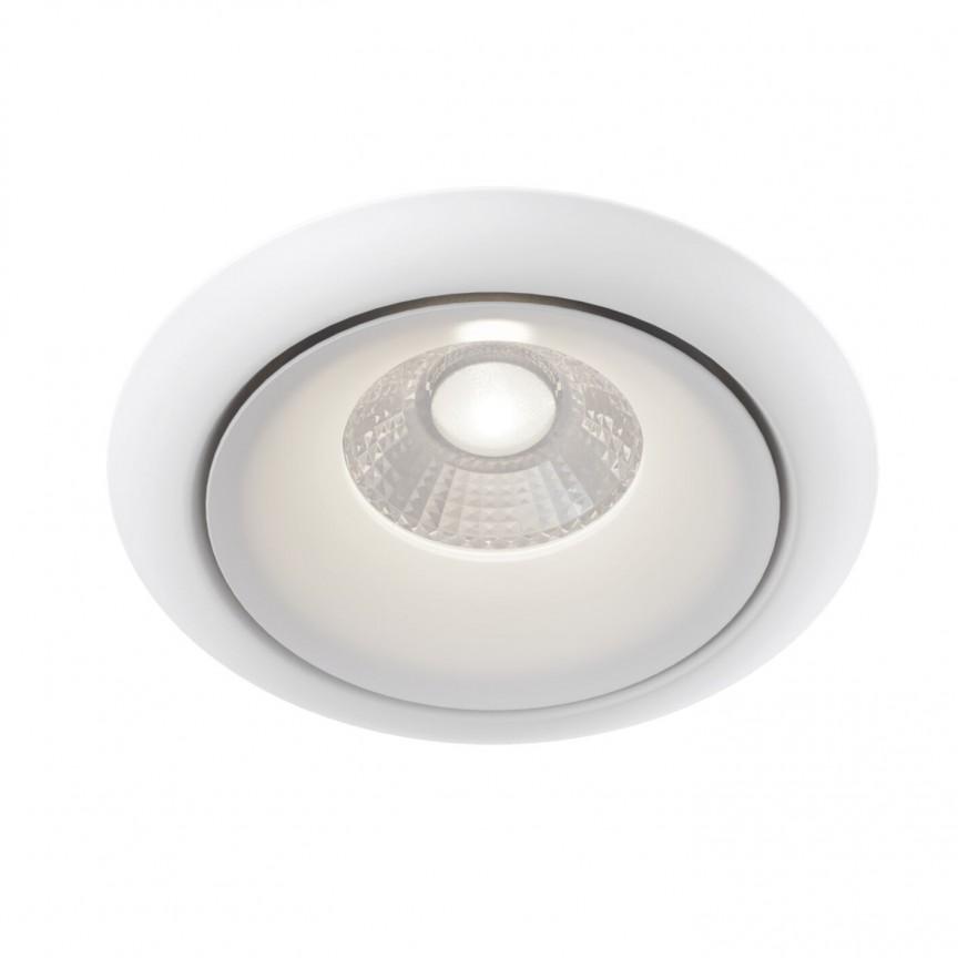 Spot incastrabil LED design modern Yin alb MYDL031-2-L8W, Spoturi aplicate tavan / perete, mobila, LED⭐modele moderne pentru living,dormitor,bucatarie,baie,hol.✅Design decorativ 2021!❤️Promotii lampi❗ ➽ www.evalight.ro. Alege oferte la colectile NOI de corpuri de iluminat interior de tip spot-uri aparente cu LED, (rotunde si patrate), ieftine de calitate la cel mai bun pret. a