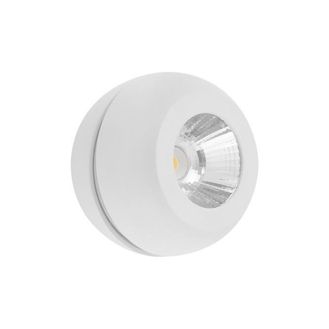 Spot LED aplicat perete sau tavan, directionabil Gon alb NVL-9105201, Spoturi aplicate tavan / perete, mobila, LED⭐modele moderne pentru living,dormitor,bucatarie,baie,hol.✅Design decorativ 2021!❤️Promotii lampi❗ ➽ www.evalight.ro. Alege oferte la colectile NOI de corpuri de iluminat interior de tip spot-uri aparente cu LED, (rotunde si patrate), ieftine de calitate la cel mai bun pret. a