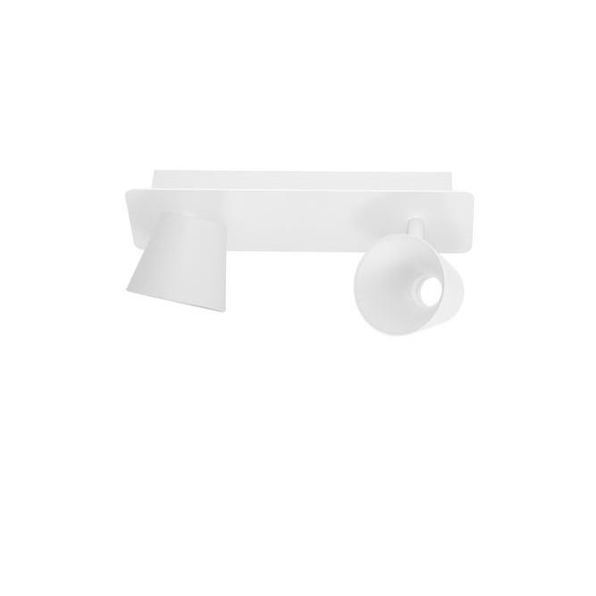 Aplica cu 2 spoturi LED BIAGIO alb NVL-9155362, Aplice aplicate perete sau tavan cu spoturi, LED⭐ modele moderne corpuri de iluminat tip spoturi pe bara.✅Design decorativ 2021!❤️Promotii lampi❗ ➽ www.evalight.ro. Alege oferte aplice de iluminat interior, lustre si plafoniere cu 2 spoturi cu lumina LED si directie reglabila, spot orientabil cu intrerupator, simple si ieftine de calitate la cel mai bun pret. a