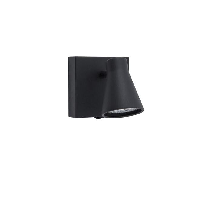 Aplica cu spot DUBLIN negru NVL-9155712, Aplice aplicate perete sau tavan cu spot, LED⭐ modele moderne corpuri de iluminat tip spot-uri pe bara.✅Design decorativ 2021!❤️Promotii lampi❗ ➽ www.evalight.ro. Alege oferte aplice de iluminat interior, lustre si plafoniere cu 1 spot cu lumina LED si directie reglabila, spot orientabil cu intrerupator, simple si ieftine de calitate la cel mai bun pret. a