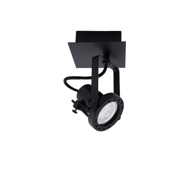 Aplica cu spot directionabile SALVA negru NVL-9155101, Aplice aplicate perete sau tavan cu spot, LED⭐ modele moderne corpuri de iluminat tip spot-uri pe bara.✅Design decorativ 2021!❤️Promotii lampi❗ ➽ www.evalight.ro. Alege oferte aplice de iluminat interior, lustre si plafoniere cu 1 spot cu lumina LED si directie reglabila, spot orientabil cu intrerupator, simple si ieftine de calitate la cel mai bun pret. a