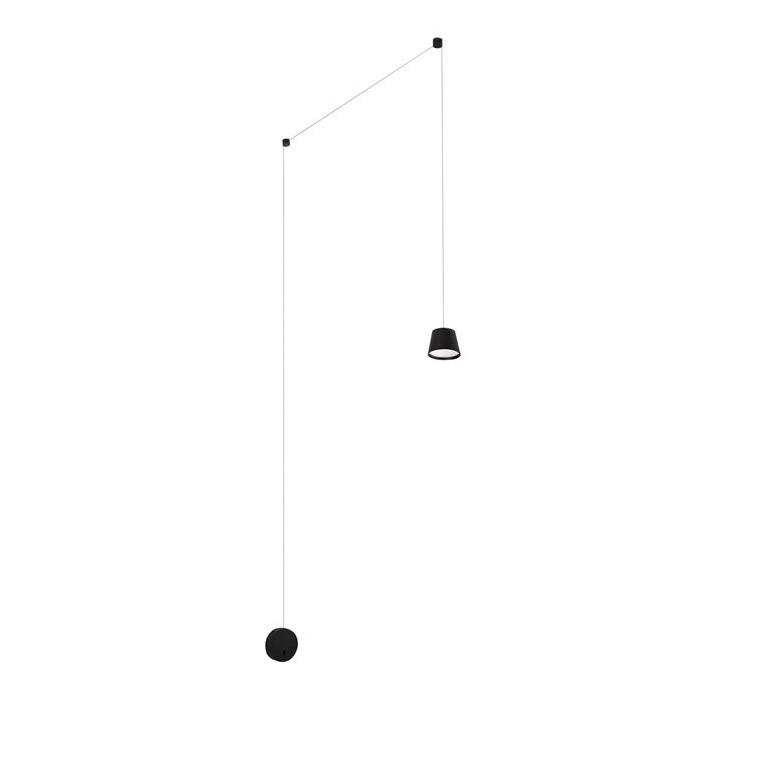 Aplica tip pendul LED design modern Amadeo neagra NVL-9118106, Aplice aplicate perete sau tavan cu spot, LED⭐ modele moderne corpuri de iluminat tip spot-uri pe bara.✅Design decorativ 2021!❤️Promotii lampi❗ ➽ www.evalight.ro. Alege oferte aplice de iluminat interior, lustre si plafoniere cu 1 spot cu lumina LED si directie reglabila, spot orientabil cu intrerupator, simple si ieftine de calitate la cel mai bun pret. a
