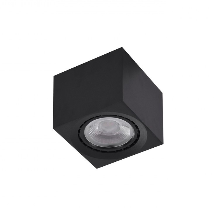 Spot aplicat de tavan/plafon ECO ALEX negru ZZ AZ4317, Spoturi aplicate tavan / perete, mobila, LED⭐modele moderne pentru living,dormitor,bucatarie,baie,hol.✅Design decorativ 2021!❤️Promotii lampi❗ ➽ www.evalight.ro. Alege oferte la colectile NOI de corpuri de iluminat interior de tip spot-uri aparente cu LED, (rotunde si patrate), ieftine de calitate la cel mai bun pret. a
