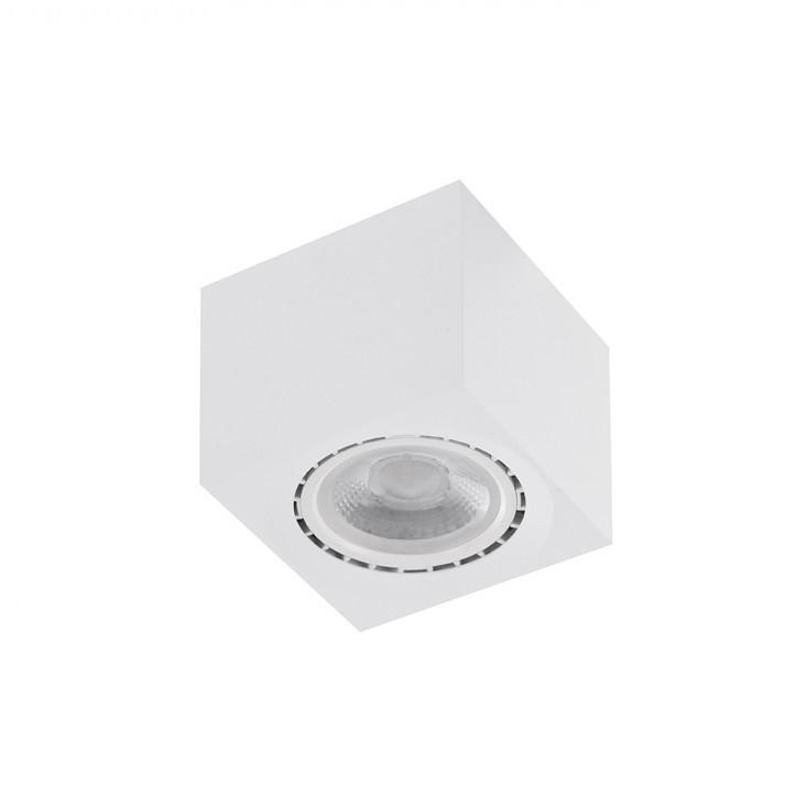 Spot aplicat de tavan/plafon ECO ALEX alb ZZ AZ4318, Spoturi aplicate tavan / perete, mobila, LED⭐modele moderne pentru living,dormitor,bucatarie,baie,hol.✅Design decorativ 2021!❤️Promotii lampi❗ ➽ www.evalight.ro. Alege oferte la colectile NOI de corpuri de iluminat interior de tip spot-uri aparente cu LED, (rotunde si patrate), ieftine de calitate la cel mai bun pret. a