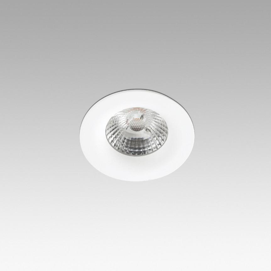 Spot LED incastrabil pentru tavan / plafon NAIS alb 02121001, Spoturi incastrate tavan / perete, LED⭐ modele moderne pentru baie, living, dormitor, bucatarie, hol.✅Design decorativ 2021!❤️Promotii lampi❗ ➽ www.evalight.ro. Alege oferte la colectile NOI de corpuri de iluminat interior de tip spot-uri incastrabile cu LED, cu lumina calda, alba rece sau neutra, montare in tavanul fals rigips, mobila, pardoseala, beton, ieftine de calitate la cel mai bun pret. a