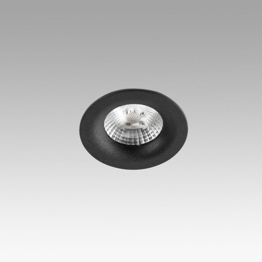 Spot LED incastrabil pentru tavan / plafon NAIS negru, Spoturi incastrate tavan / perete, LED⭐ modele moderne pentru baie, living, dormitor, bucatarie, hol.✅Design decorativ 2021!❤️Promotii lampi❗ ➽ www.evalight.ro. Alege oferte la colectile NOI de corpuri de iluminat interior de tip spot-uri incastrabile cu LED, cu lumina calda, alba rece sau neutra, montare in tavanul fals rigips, mobila, pardoseala, beton, ieftine de calitate la cel mai bun pret. a
