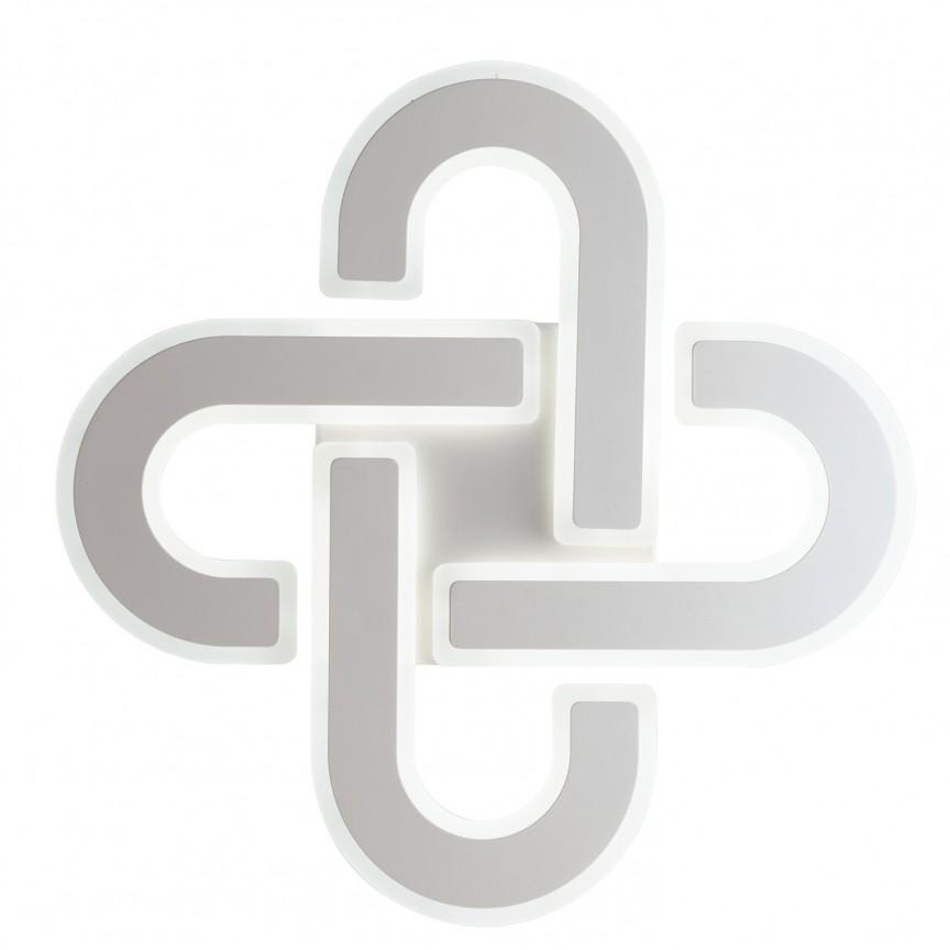 Plafoniera LED dimabila design deosebit OBSESSION LED-OBSESSION-PL50 FE, Corpuri de iluminat LED pentru interior⭐ moderne: Lustre LED, Aplice LED, Plafoniere LED, Candelabre LED, Spoturi LED, Veioze LED, Lampadare LED.✅DeSiGn decorativ 2021!❤️Promotii lampi LED❗ Magazin online ➽ www.evalight.ro. Alege oferte la corpuri de iluminat cu LED, ieftine de calitate deosebita la cel mai bun pret. a