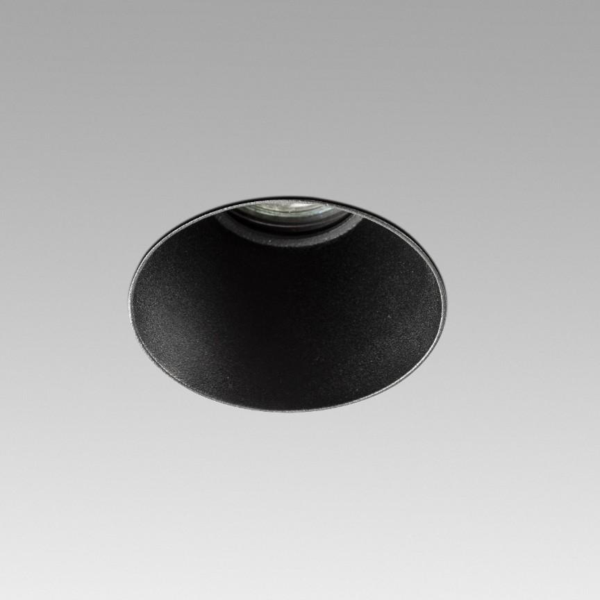 Spot incastrabil modern cu protectie IP65 FRESH TRIMLESS negru, Spoturi incastrate tavan / perete, LED⭐ modele moderne pentru baie, living, dormitor, bucatarie, hol.✅Design decorativ 2021!❤️Promotii lampi❗ ➽ www.evalight.ro. Alege oferte la colectile NOI de corpuri de iluminat interior de tip spot-uri incastrabile cu LED, cu lumina calda, alba rece sau neutra, montare in tavanul fals rigips, mobila, pardoseala, beton, ieftine de calitate la cel mai bun pret. a