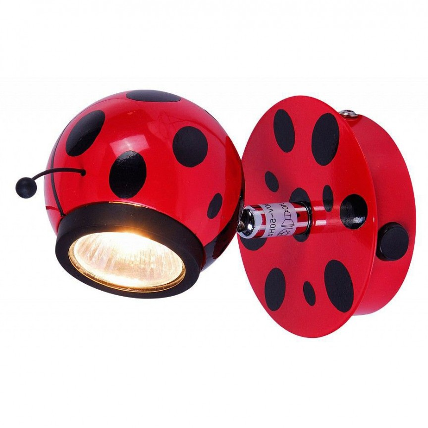 Aplica camera copii design gargarita Ladybird 5718-1 GL, Promotii si Reduceri⭐ Oferte ✅Corpuri de iluminat ✅Lustre ✅Mobila ✅Decoratiuni interiorare pentru casa.⭕Pret redus online➜Lichidari de stoc❗ Magazin ➽ www.evalight.ro. a