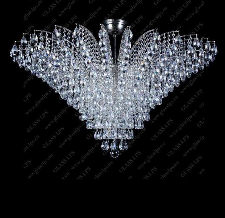 Plafoniera cristal Bohemia diametru 100cm, L17 555/18/1-A, Lustre Cristal Bohemia⭐ modele deosebite de candelabre din cristal Bohemia autentic din Cehia❗ ✅Design Baroc unicat Premium Top 2021!❤️Promotii lampi cristal❗ ➽ www.evalight.ro. Alege oferte la corpuri de iluminat din cristal de tip lustre suspendate si suspensii lungi de tavan decorate in stil elegant de lux, clasice si moderne dar si traditionale, realizate manual (handmade) cu decoratiuni de sticla si din cristal slefuit, abajur de material textil, brate mari tip lumanare cu bec-uri cu filament normal, vintage Edison sau LED, din metale pretioase de culoarea alamei lustruite (chiar si aur de 24 carate) sau din nichel (argint), finisaj bronz antique, potrivite pentru camere mari, horeca (bar, hotel, restaurant, pensiune, sali de nunti ), spatii comerciale sau casa (living, dormitor, bucatarie, casa scarii), calitate înalta la cel mai bun pret. a