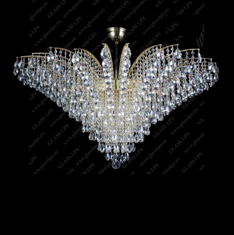 Plafoniera cristal Bohemia diametru 120cm, L17 555/23/1-A, Lustre Cristal Bohemia⭐ modele deosebite de candelabre din cristal Bohemia autentic din Cehia❗ ✅Design Baroc unicat Premium Top 2021!❤️Promotii lampi cristal❗ ➽ www.evalight.ro. Alege oferte la corpuri de iluminat din cristal de tip lustre suspendate si suspensii lungi de tavan decorate in stil elegant de lux, clasice si moderne dar si traditionale, realizate manual (handmade) cu decoratiuni de sticla si din cristal slefuit, abajur de material textil, brate mari tip lumanare cu bec-uri cu filament normal, vintage Edison sau LED, din metale pretioase de culoarea alamei lustruite (chiar si aur de 24 carate) sau din nichel (argint), finisaj bronz antique, potrivite pentru camere mari, horeca (bar, hotel, restaurant, pensiune, sali de nunti ), spatii comerciale sau casa (living, dormitor, bucatarie, casa scarii), calitate înalta la cel mai bun pret. a