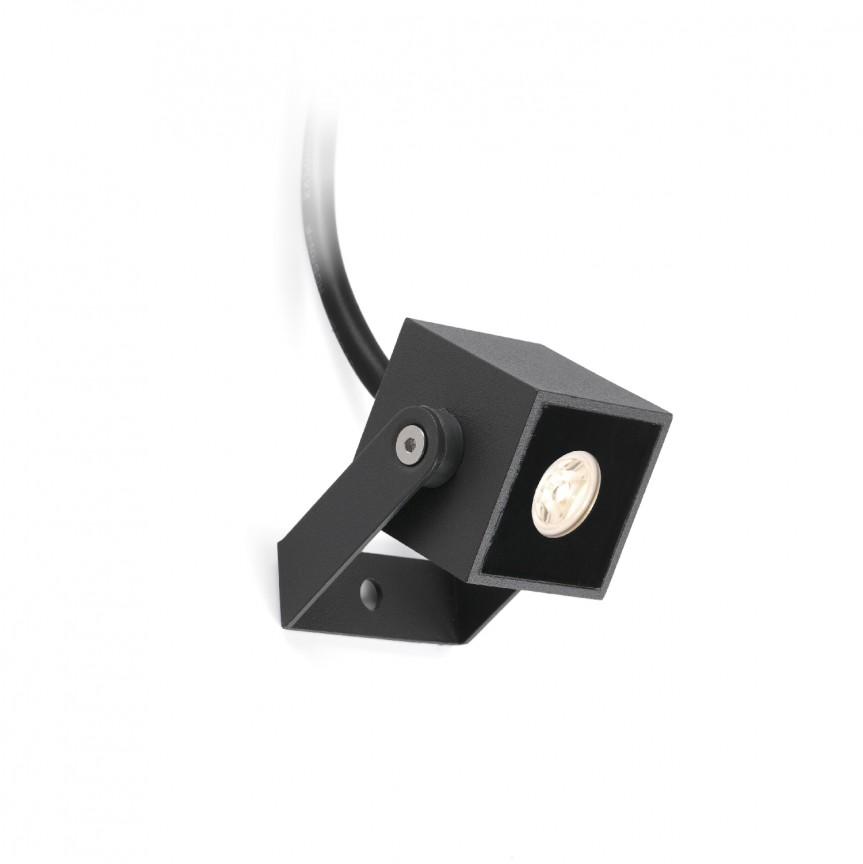 Mini Proiector LED de exterior IP65 OKI, Proiectoare LED de exterior cu tarus⭐ iluminat ambiental pentru curte gradina, fatada casa.✅Design decorativ ornamental 2021!❤️Promotii lampi❗ Magazin➽www.evalight.ro. Alege oferte la corpuri de iluminat tip stalpi cu tarus proiector, reflector cu senzor de miscare, sisteme de mare putere cu panou solar cu LED-uri, profesionale de calitate la cel mai bun pret. a