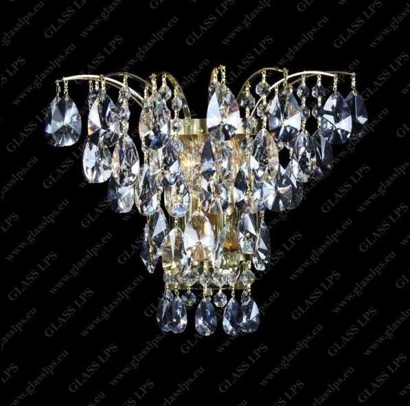 Aplica de perete cristal Bohemia N27 555/02/1-A, Aplice de perete Cristal Bohemia⭐ modele deosebite din cristal Bohemia autentic din Cehia❗ ✅Design unicat Premium Top 2021!❤️Promotii lampi cristal❗ ➽ www.evalight.ro. Alege oferte la corpuri de iluminat de perete tip aplica din cristal, pt camere interioare elegante de lux, decorate in stil Baroc, clasice si moderne dar si traditionale, realizate din decoratiuni de sticla si din cristal slefuit manual, abajur de material textil, brate tip lumanare cu bec-uri cu filament normal, vintage Edison sau LED, din metale pretioase  de culoarea alamei lustruite (chiar si aur de 24 carate) sau din nichel (argint), finisaj bronz antique, potrivite pt iluminare camere (living, dormitor, bucatarie, sufragerie, hol), de calitate înalta la cel mai bun pret. a