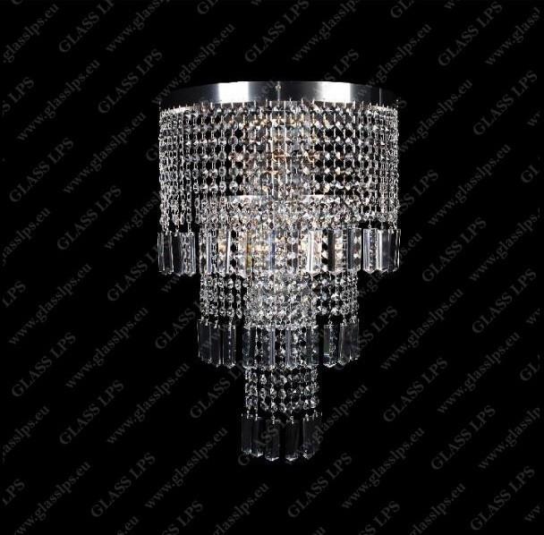 Aplica de perete cristal Bohemia N27 602/05/3-P, F 3 floor, Aplice de perete Cristal Bohemia⭐ modele deosebite din cristal Bohemia autentic din Cehia❗ ✅Design unicat Premium Top 2021!❤️Promotii lampi cristal❗ ➽ www.evalight.ro. Alege oferte la corpuri de iluminat de perete tip aplica din cristal, pt camere interioare elegante de lux, decorate in stil Baroc, clasice si moderne dar si traditionale, realizate din decoratiuni de sticla si din cristal slefuit manual, abajur de material textil, brate tip lumanare cu bec-uri cu filament normal, vintage Edison sau LED, din metale pretioase  de culoarea alamei lustruite (chiar si aur de 24 carate) sau din nichel (argint), finisaj bronz antique, potrivite pt iluminare camere (living, dormitor, bucatarie, sufragerie, hol), de calitate înalta la cel mai bun pret. a