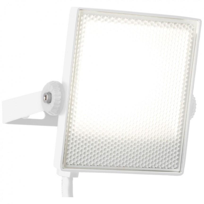 Proiector LED de exterior IP65 Dryden 13cm, alb G96329/05 BL, Proiectoare LED exterior⭐ iluminat arhitectural ambiental pentru fatade cladiri si casa.✅Design decorativ ornamental 2021!❤️Promotii lampi❗ Magazin➽www.evalight.ro. Alege oferte la corpuri de iluminat tip proiector cu reflector si senzor de miscare, sisteme de mare putere cu panou solar cu LED-uri, aplice, spoturi aplicate de perete sau tavan, stalpi si tarusi, profesionale de calitate la cel mai bun pret. a