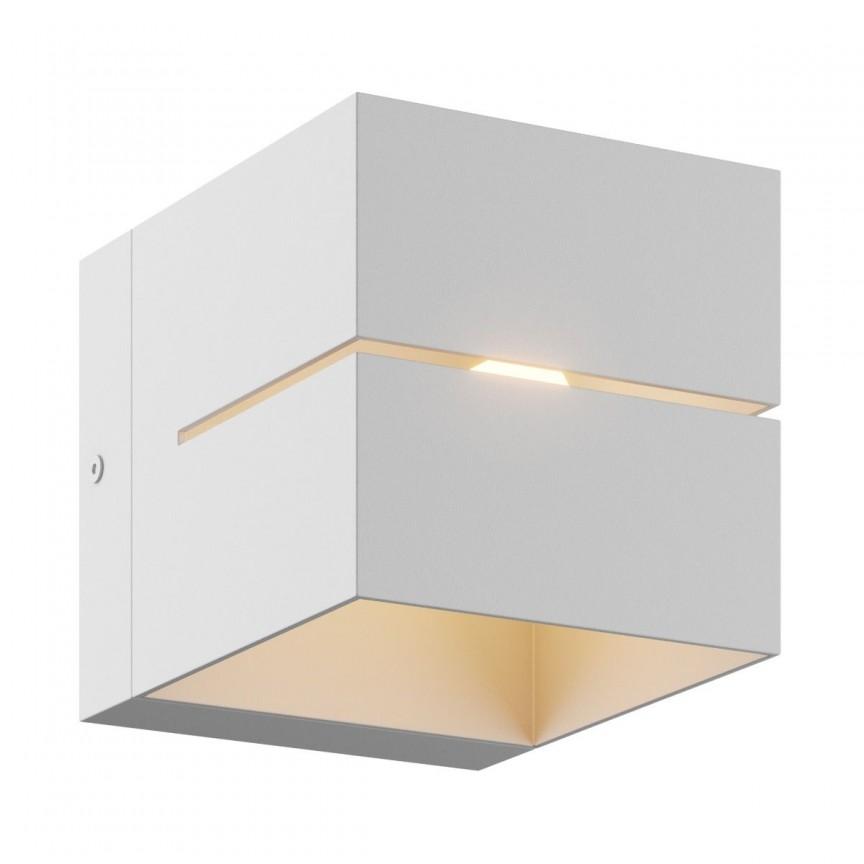 Aplica de perete ambientala design modern Transfer II alba, Aplice de perete minimaliste, LED⭐ modele moderne potrivite pentru dormitor, living, baie, hol, bucatarie.✅Design NOU 2021!❤️Promotii lampi❗ ➽ www.evalight.ro. Alege oferte la corpuri de iluminat interior tip lustra in stil minimalist, (plafoniera) spoturi aplicate pe perete sau tavan (plafon) pt camere casa, cu lumina ambientala, din (sticla,lemn,inox, crom), cu intrerupator, ieftine si simple, calitate deosebita la cel mai bun pret. a