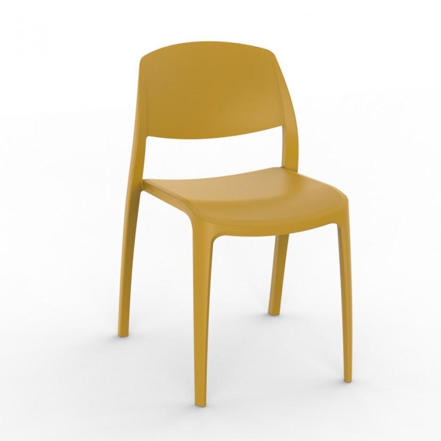 Set de 2 scaune din polipropilena pentru exterior / interior Smart Chair, Cele mai noi produse 2021 a