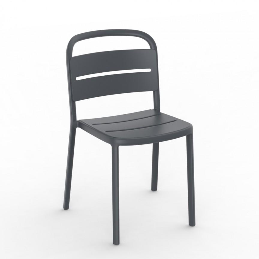 Set de 2 scaune din polipropilena pentru exterior / interior Como Chair, Cele mai noi produse 2021 a