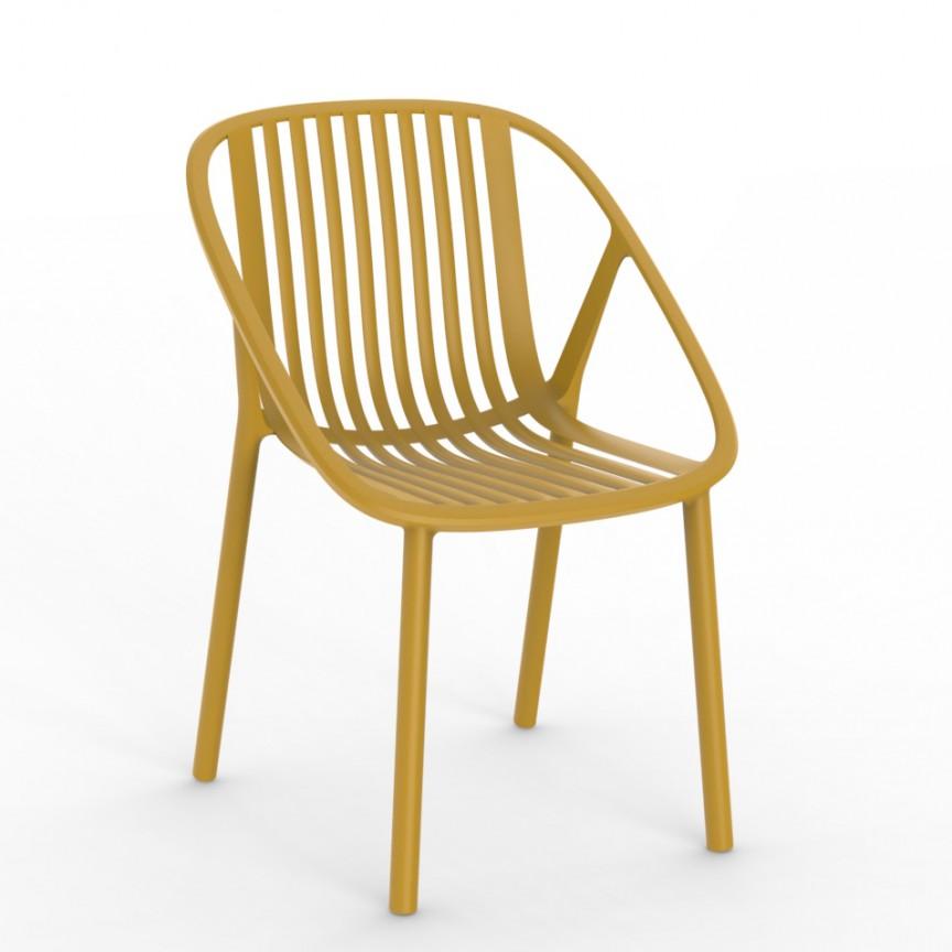 Set de 2 scaune din polipropilena pentru exterior / interior Bini Chair, Cele mai noi produse 2021 a