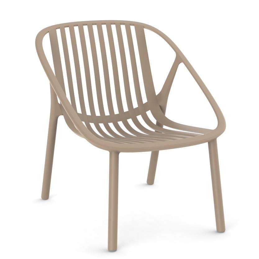 Set de 2 scaune din polipropilena pentru exterior / interior Bini Armchair, Cele mai noi produse 2021 a