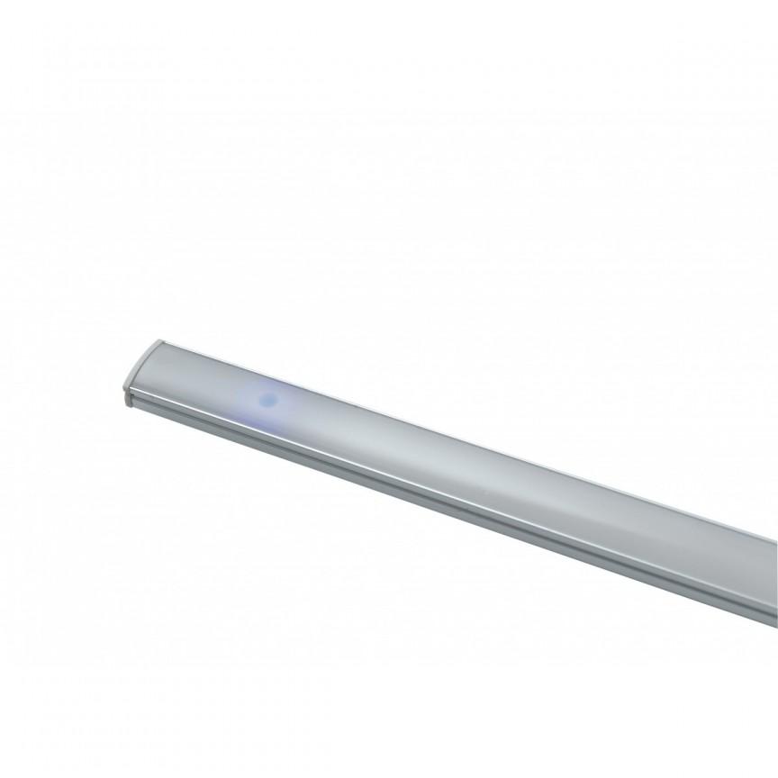 Aplica LED liniara pentru mobila de bucatarie UNIX, L-90cm LEDBAR-UNIX-90 FE, Cele mai noi produse 2021 a
