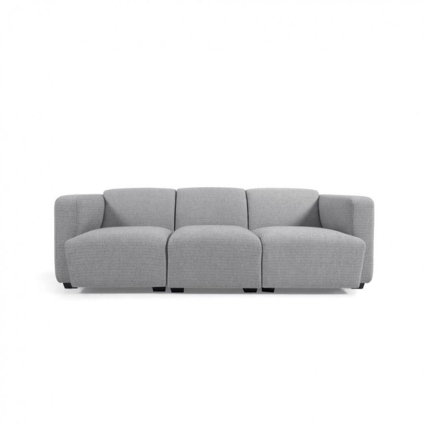 Canapea modulara cu 3 locuri design modern Legara, 222cm S755MN14 JG, Cele mai noi produse 2021 a