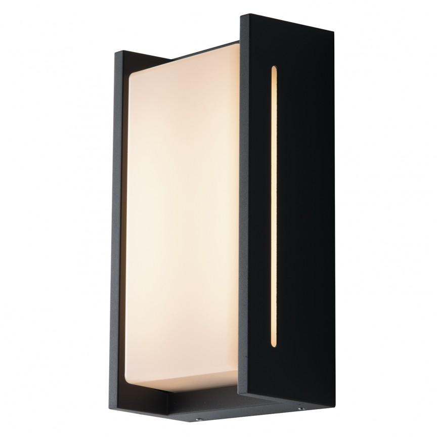 Aplica LED pentru iluminat exterior design modern IP54 COMPACT antracit LED-W-COMPACT FE, Cele mai noi produse 2021 a