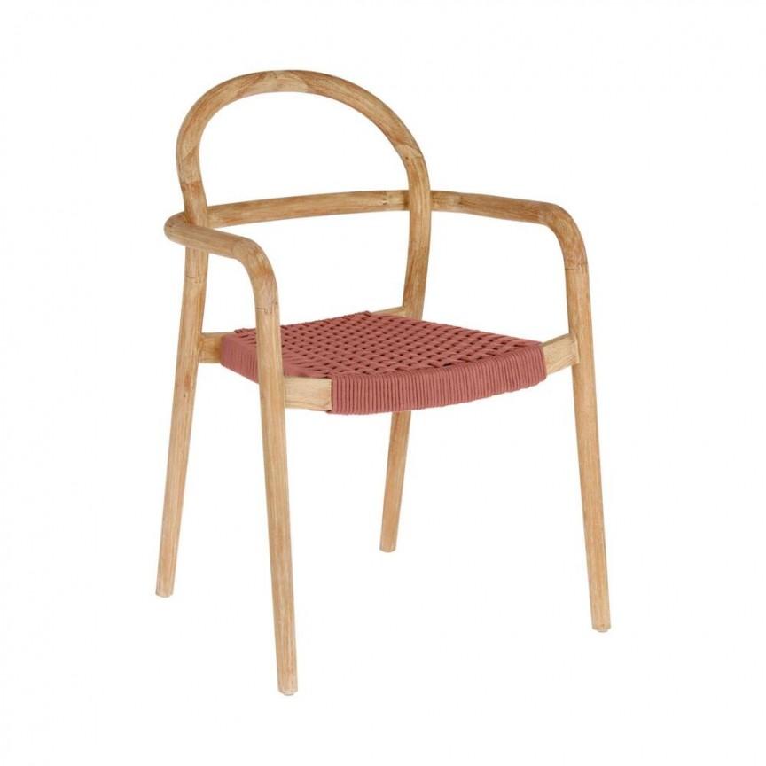 Scaun din lemn Sheryl, terracotta CC5078J86 JG, Cele mai noi produse 2021 a