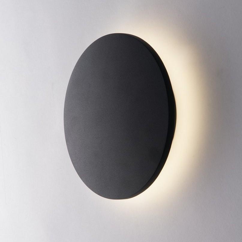 Aplica LED lumina ambientala exterior design modern IP54 AMON negru, 4000K, 18cm LED-W-AMON-M NER FE, Cele mai noi produse 2021 a