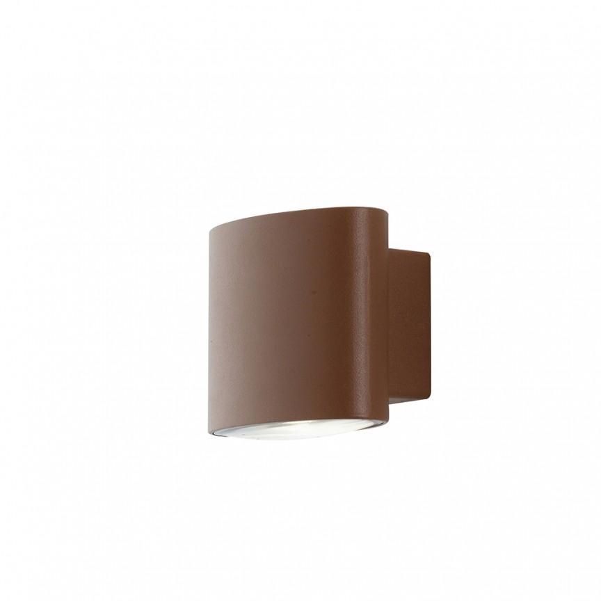 Aplica LED luminat exterior design modern IP54 BOXTER maro LED-W-BOXTER BRO FE, Candelabre si Lustre moderne elegante⭐ modele clasice de lux pentru living, bucatarie si dormitor.✅ DeSiGn actual Top 2020!❤️Promotii lampi❗ ➽ www.evalight.ro. Oferte corpuri de iluminat suspendate pt camere de interior (înalte), suspensii (lungi) de tip lustre si candelabre, pendule decorative stil modern, clasic, rustic, baroc, scandinav, retro sau vintage, aplicate pe perete sau de tavan, cu cristale, abajur din material textil, lemn, metal, sticla, bec Edison sau LED, ieftine de calitate deosebita la cel mai bun pret. a