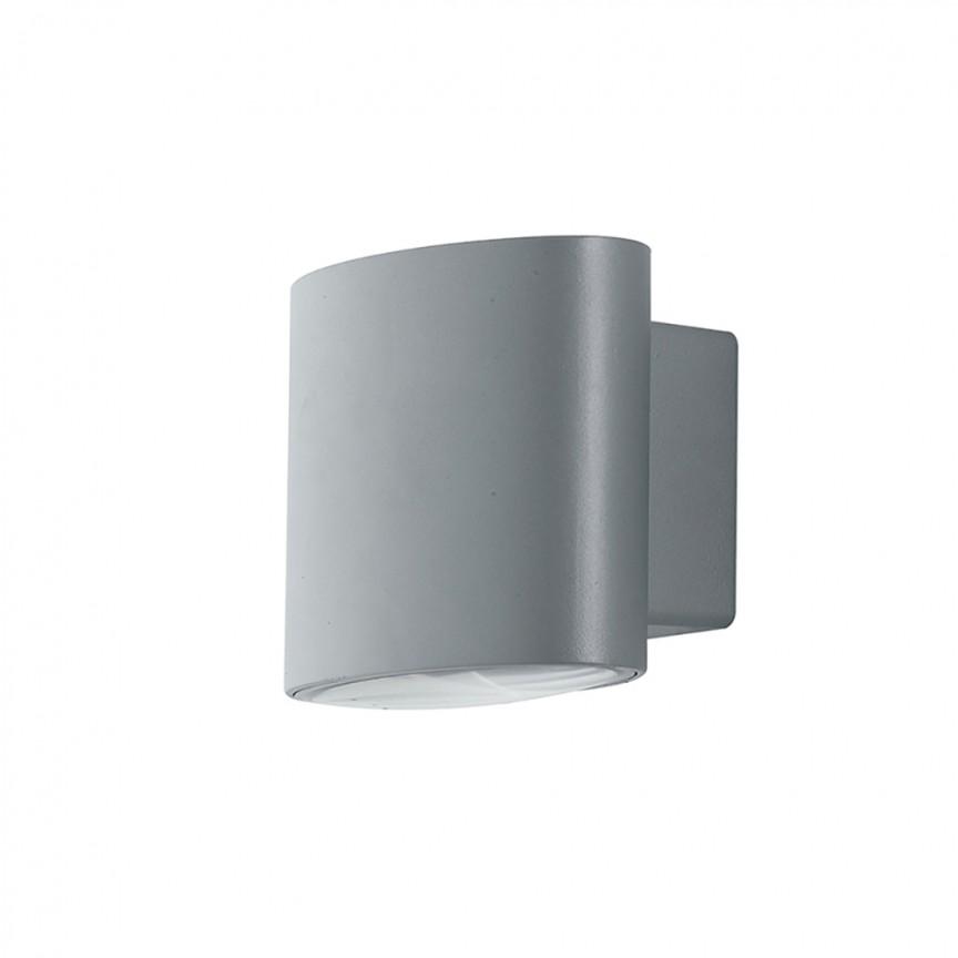 Aplica LED luminat exterior design modern IP54 BOXTER argintiu LED-W-BOXTER SIL FE, Candelabre si Lustre moderne elegante⭐ modele clasice de lux pentru living, bucatarie si dormitor.✅ DeSiGn actual Top 2020!❤️Promotii lampi❗ ➽ www.evalight.ro. Oferte corpuri de iluminat suspendate pt camere de interior (înalte), suspensii (lungi) de tip lustre si candelabre, pendule decorative stil modern, clasic, rustic, baroc, scandinav, retro sau vintage, aplicate pe perete sau de tavan, cu cristale, abajur din material textil, lemn, metal, sticla, bec Edison sau LED, ieftine de calitate deosebita la cel mai bun pret. a