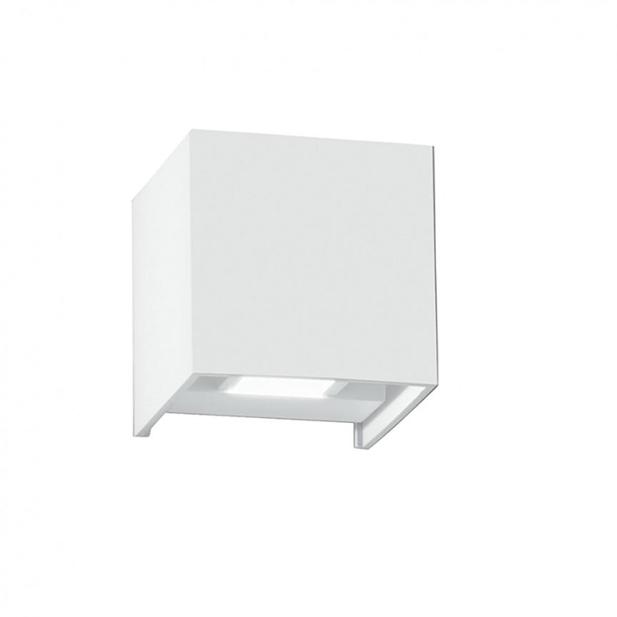Aplica LED cu lumina ambientala exterior design modern IP54 ALFA alb, 3000K LED-W-ALFA-10C BCO FE, Candelabre si Lustre moderne elegante⭐ modele clasice de lux pentru living, bucatarie si dormitor.✅ DeSiGn actual Top 2020!❤️Promotii lampi❗ ➽ www.evalight.ro. Oferte corpuri de iluminat suspendate pt camere de interior (înalte), suspensii (lungi) de tip lustre si candelabre, pendule decorative stil modern, clasic, rustic, baroc, scandinav, retro sau vintage, aplicate pe perete sau de tavan, cu cristale, abajur din material textil, lemn, metal, sticla, bec Edison sau LED, ieftine de calitate deosebita la cel mai bun pret. a