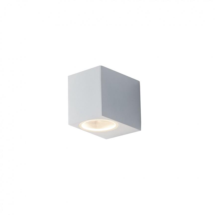 Aplica iluminat ambiental design modern IP54 QUBO alb I-QUBO-AP1 BCO FE, Candelabre si Lustre moderne elegante⭐ modele clasice de lux pentru living, bucatarie si dormitor.✅ DeSiGn actual Top 2020!❤️Promotii lampi❗ ➽ www.evalight.ro. Oferte corpuri de iluminat suspendate pt camere de interior (înalte), suspensii (lungi) de tip lustre si candelabre, pendule decorative stil modern, clasic, rustic, baroc, scandinav, retro sau vintage, aplicate pe perete sau de tavan, cu cristale, abajur din material textil, lemn, metal, sticla, bec Edison sau LED, ieftine de calitate deosebita la cel mai bun pret. a
