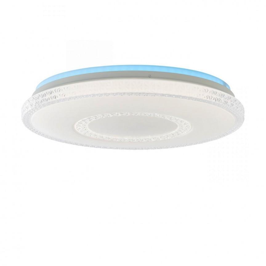 Plafoniera LED RGB cu telecomanda Susie, Lustre cu LED si telecomanda⭐ modele moderne pentru iluminat cu LED dormitor, living si sufragerie.✅Design decorativ 2021!❤️Promotii lampi❗ ➽www.evalight.ro. Alege oferte la corpuri de iluminat cu telecomanda dimabile 3 functii cu lumina LED RGB si intensitate reglabila, ieftine si de lux, calitate deosebita la cel mai bun pret. a