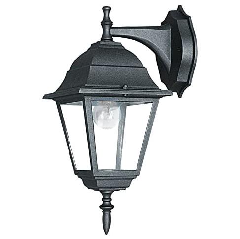 Aplica downlight pentru iluminat exterior design clasic IP44 ROMA negru LANT-ROMA/AP1B FE, Candelabre si Lustre moderne elegante⭐ modele clasice de lux pentru living, bucatarie si dormitor.✅ DeSiGn actual Top 2020!❤️Promotii lampi❗ ➽ www.evalight.ro. Oferte corpuri de iluminat suspendate pt camere de interior (înalte), suspensii (lungi) de tip lustre si candelabre, pendule decorative stil modern, clasic, rustic, baroc, scandinav, retro sau vintage, aplicate pe perete sau de tavan, cu cristale, abajur din material textil, lemn, metal, sticla, bec Edison sau LED, ieftine de calitate deosebita la cel mai bun pret. a
