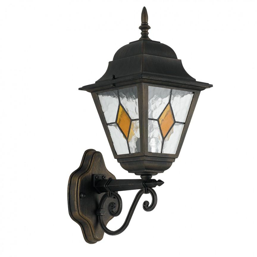 Aplica pentru iluminat exterior design clasic IP44 PISA LANT-PISA/AP1A FE, Aplice de exterior clasice, rustice, traditionale⭐ lampi de perete pentru iluminat exterior terasa casa.✅Design decorativ 2021!❤️Promotii online❗ Magazin➽www.evalight.ro. Alege oferte la corpuri de iluminat exterior rezistente la apa tip felinar din metal antichizat, abajur din sticla cu decor ornamental, bec LED si lumina ambientala, ieftine si de lux, calitate deosebita la cel mai bun pret. a