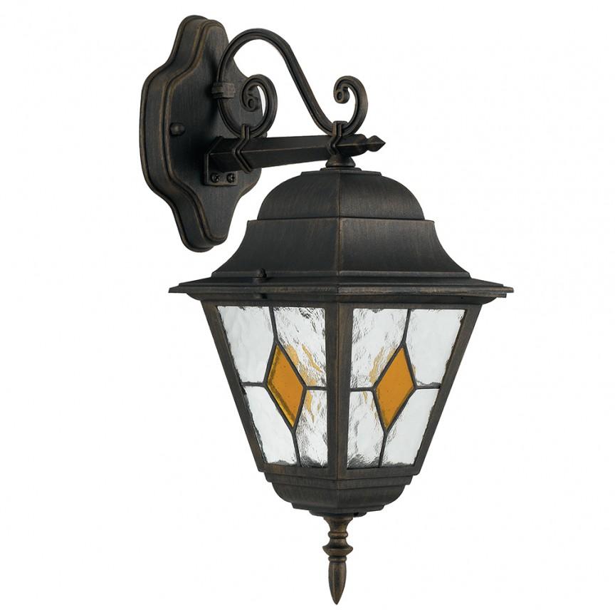 Aplica downlight pentru iluminat exterior design clasic IP44 PISA LANT-PISA/AP1B FE, Candelabre si Lustre moderne elegante⭐ modele clasice de lux pentru living, bucatarie si dormitor.✅ DeSiGn actual Top 2020!❤️Promotii lampi❗ ➽ www.evalight.ro. Oferte corpuri de iluminat suspendate pt camere de interior (înalte), suspensii (lungi) de tip lustre si candelabre, pendule decorative stil modern, clasic, rustic, baroc, scandinav, retro sau vintage, aplicate pe perete sau de tavan, cu cristale, abajur din material textil, lemn, metal, sticla, bec Edison sau LED, ieftine de calitate deosebita la cel mai bun pret. a