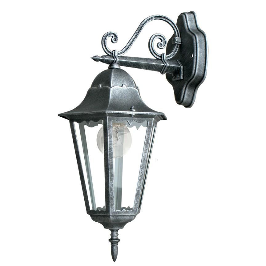 Aplica downlight pentru iluminat exterior design clasic IP44 FIRENZA LANT-FIRENZE/AP1B FE, Aplice de exterior clasice, rustice, traditionale⭐ lampi de perete pentru iluminat exterior terasa casa.✅Design decorativ 2021!❤️Promotii online❗ Magazin➽www.evalight.ro. Alege oferte la corpuri de iluminat exterior rezistente la apa tip felinar din metal antichizat, abajur din sticla cu decor ornamental, bec LED si lumina ambientala, ieftine si de lux, calitate deosebita la cel mai bun pret. a