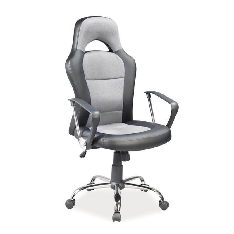 Scaun de Birou gaming Q-033 negru/ gri OBRQ033SZ SM, Scaune de birou ergonomice⭐modele moderne directoriale,rotative pentru birou copii,reglabile de gaming.❤️Promotii scaune de birou❗ Intra si vezi ➽ www.evalight.ro. ➽ sursa ta de inspiratie online❗ ✅Design de lux original premium actual Top 2020❗ Alege cel mai bun scaun potrivit pt birou office, calculator, rezistente si confortabile, tapitate cu catifea, piele naturala (ecologica), din material textil (stofa) pivotante, rabatabile, cu spatar reglabil, cu roti cauciuc (silicon), intra ➽vezi oferte si reduceri cu vanzare rapida din stoc, ieftine si de calitate deosebita la cel mai bun pret. a