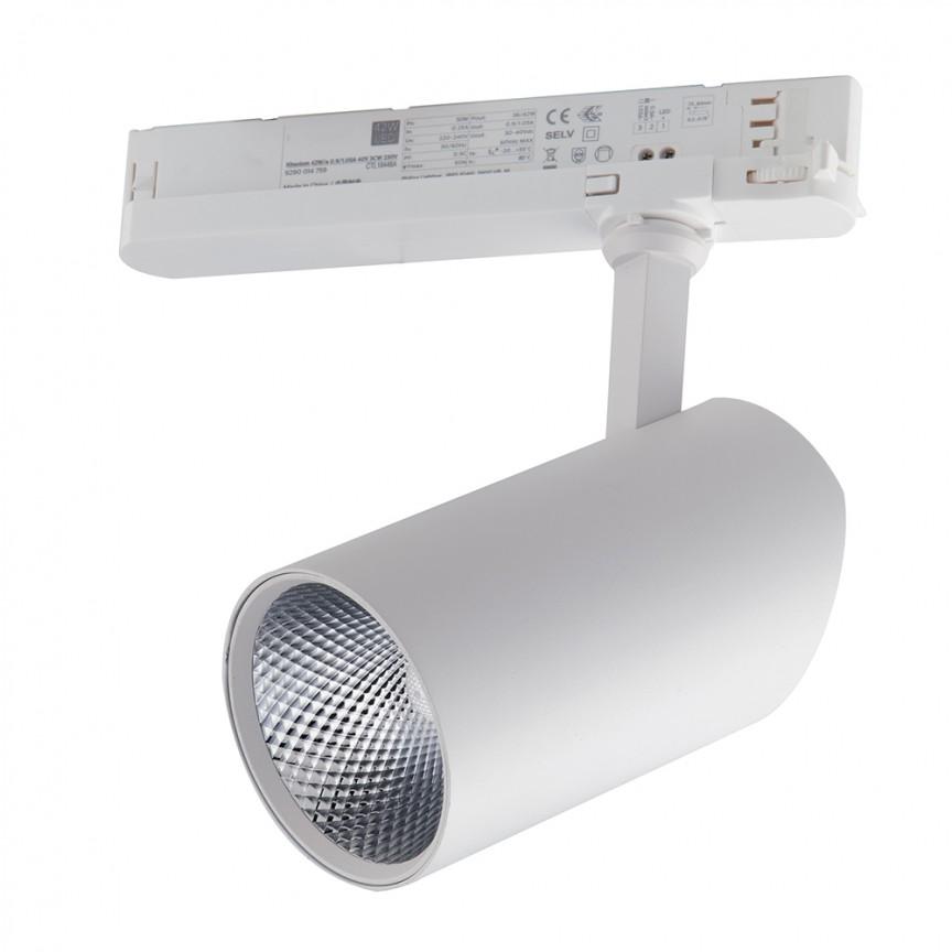 Spot LED directionabil pentru sina Track, 20W 3000K Action alb LED-ACTION-W-20C FE, Cele mai noi produse 2021 a