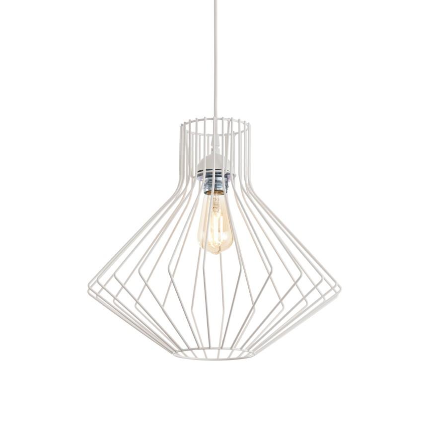 Pendul modern design minimalist Ampolla-4 SP1 Ø39,5cm alb, Cele mai noi produse 2021 a