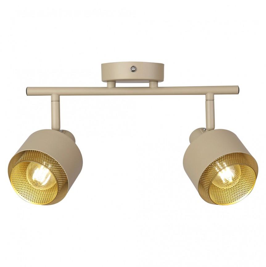 Aplica cu 2 spoturi design modern Fedora 3548 RX, Aplice aplicate perete sau tavan cu spoturi, LED⭐ modele moderne corpuri de iluminat tip spoturi pe bara.✅Design decorativ 2021!❤️Promotii lampi❗ ➽ www.evalight.ro. Alege oferte aplice de iluminat interior, lustre si plafoniere cu 2 spoturi cu lumina LED si directie reglabila, spot orientabil cu intrerupator, simple si ieftine de calitate la cel mai bun pret. a