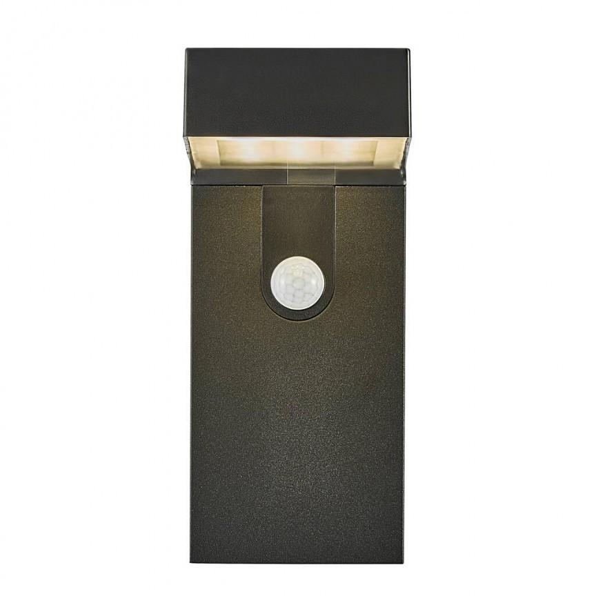 Lampa LED de perete solara cu senzor pentru iluminat exterior, stil modern IP44 Alya 2118231003 NL, Iluminat cu senzor de miscare, LED⭐ modele stil decorativ potrivite pentru iluminat exterior casa, gradina si terasa.✅Design ornamental 2021!❤️Promotii lampi exterior cu senzor de miscare❗ Magazin online➽www.evalight.ro. Alege oferte la corpuri de iluminat exterior cu senzor de miscare, tip aplice exterior de perete sau tavan, plafoniere exterior, proiectoare LED fatade cladiri, stalpi iluminat si felinare cu lumina ambientala, moderne, clasice, rustice si traditionale, cu aspect retro sau vintage, industrial, solare cu panou solar, cu bec LED economic, pt iluminare curte, alei, foisoare, ieftine si de lux, calitate la cel mai bun pret. a