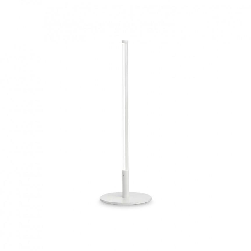 Lampa de masa LED design modern minimalist YOKO TL BIANCO, Cele mai noi produse 2021 a
