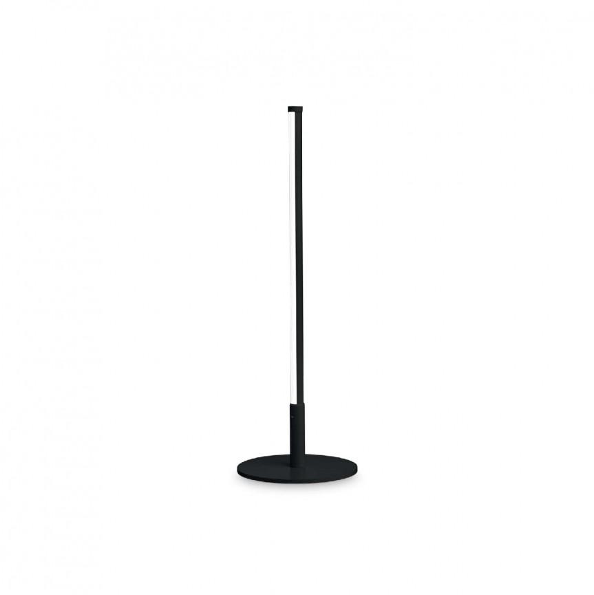 Lampa de masa LED design modern minimalist YOKO TL NERO, Cele mai noi produse 2021 a